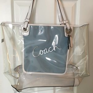 Authentic Coach beach bag
